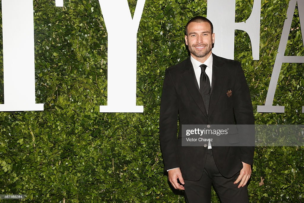 Actor Rafael Amaya attends the Vanity Fair México magazine launch at Casa Del Lago on March 23, 2015 in Mexico City, Mexico.