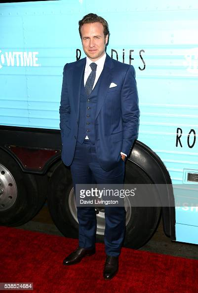 Actor Rafe Spall attends the premiere for Showtime's 'Roadies' at The Theatre at Ace Hotel on June 6 2016 in Los Angeles California