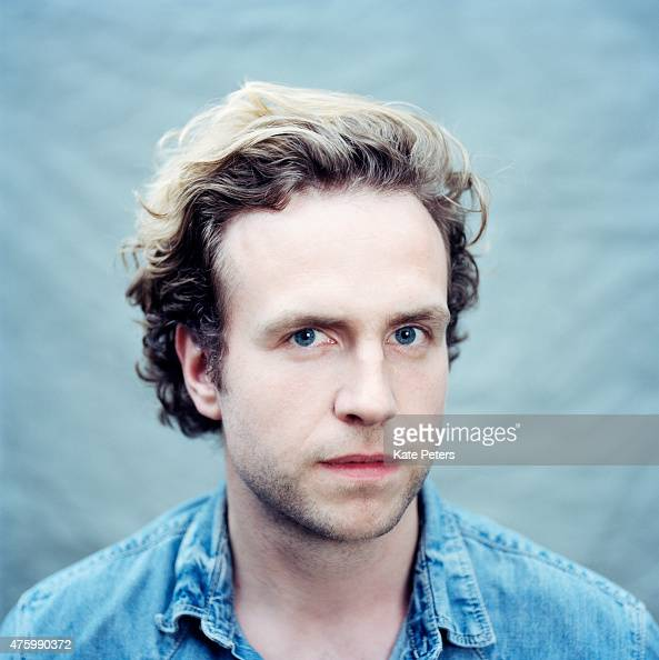 Actor Rafe Spall is photographed for the Telegraph on August 8 2011 in London England