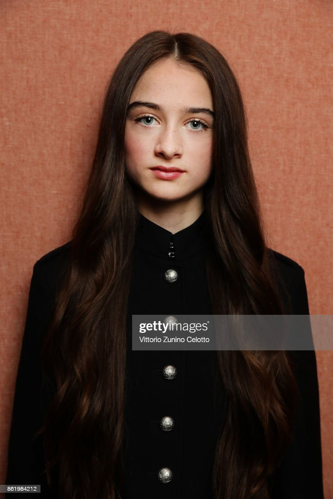 Actor Raffey Cassidy is photographed during the 61st BFI London Film Festival on October 12, 2017 in London, England.