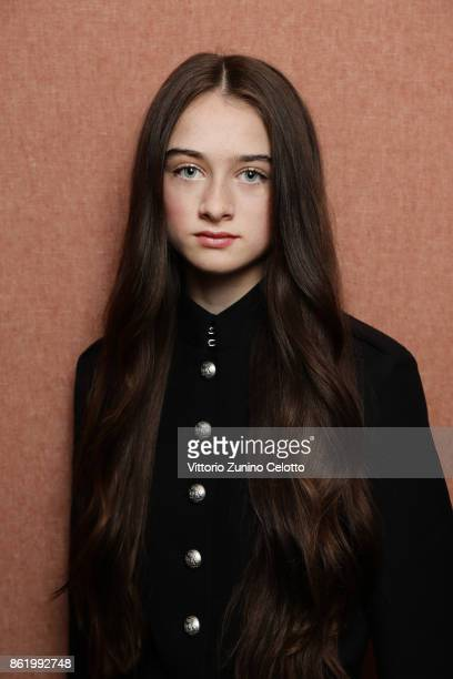 Actor Raffey Cassidy is photographed during the 61st BFI London Film Festival on October 12 2017 in London England