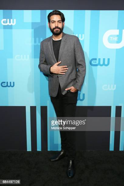 Actor Rahul Kohli attends the 2017 CW Upfront on May 18 2017 in New York City