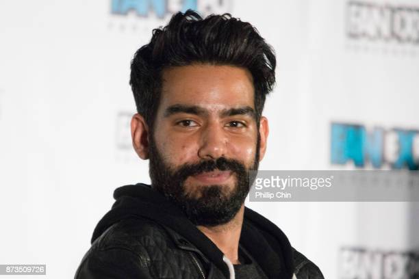Actor Rahul Kohli attends the 'iZombie' QA for Fan Expo Vancouver in the Vancouver Convention Centre on November 12 2017 in Vancouver Canada
