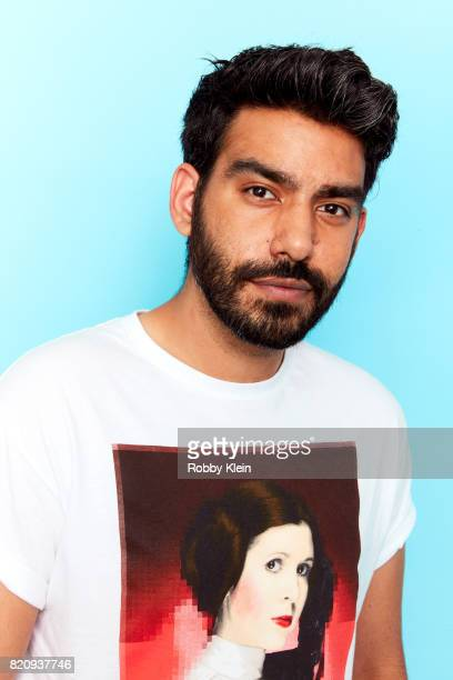 Actor Rahul Kohli from CW's 'iZombie' poses for a portrait during ComicCon 2017 at Hard Rock Hotel San Diego on July 21 2017 in San Diego California