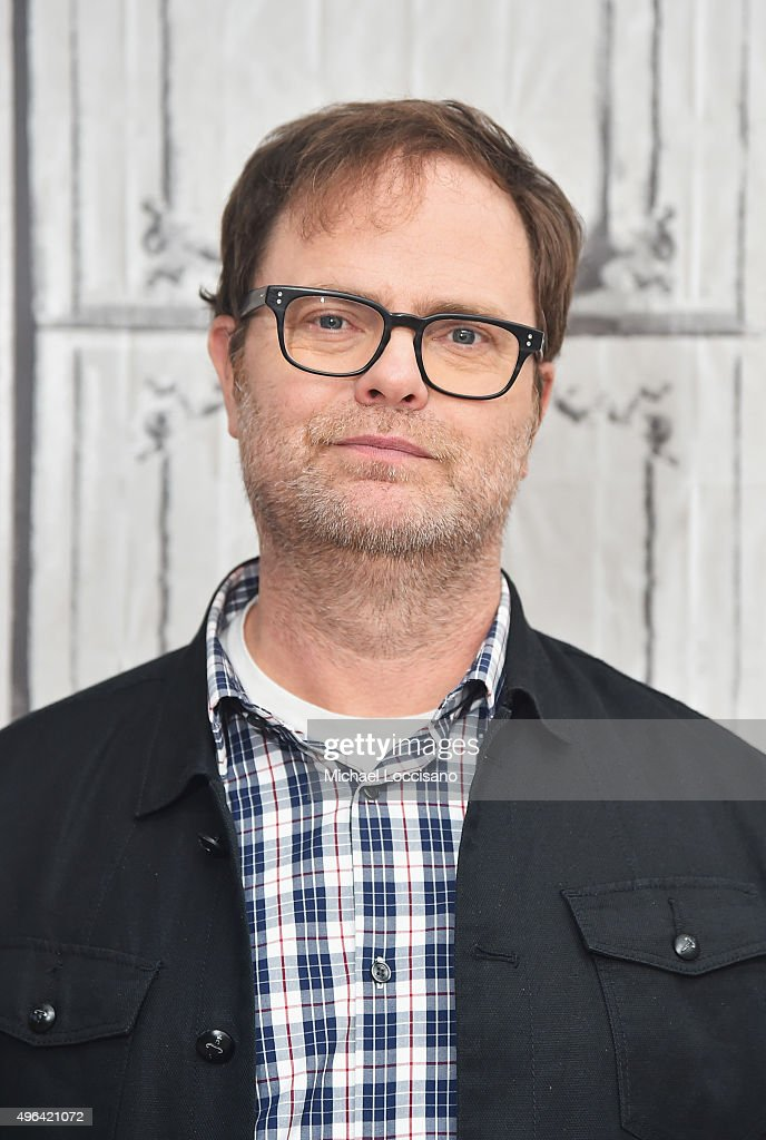 Actor <a gi-track='captionPersonalityLinkClicked' href=/galleries/search?phrase=Rainn+Wilson&family=editorial&specificpeople=534993 ng-click='$event.stopPropagation()'>Rainn Wilson</a> attends the AOL BUILD Speaker Series: 'The Bassoon King: My Life in Art, Faith, and Idiocy' at AOL Studios In New York on November 9, 2015 in New York City.