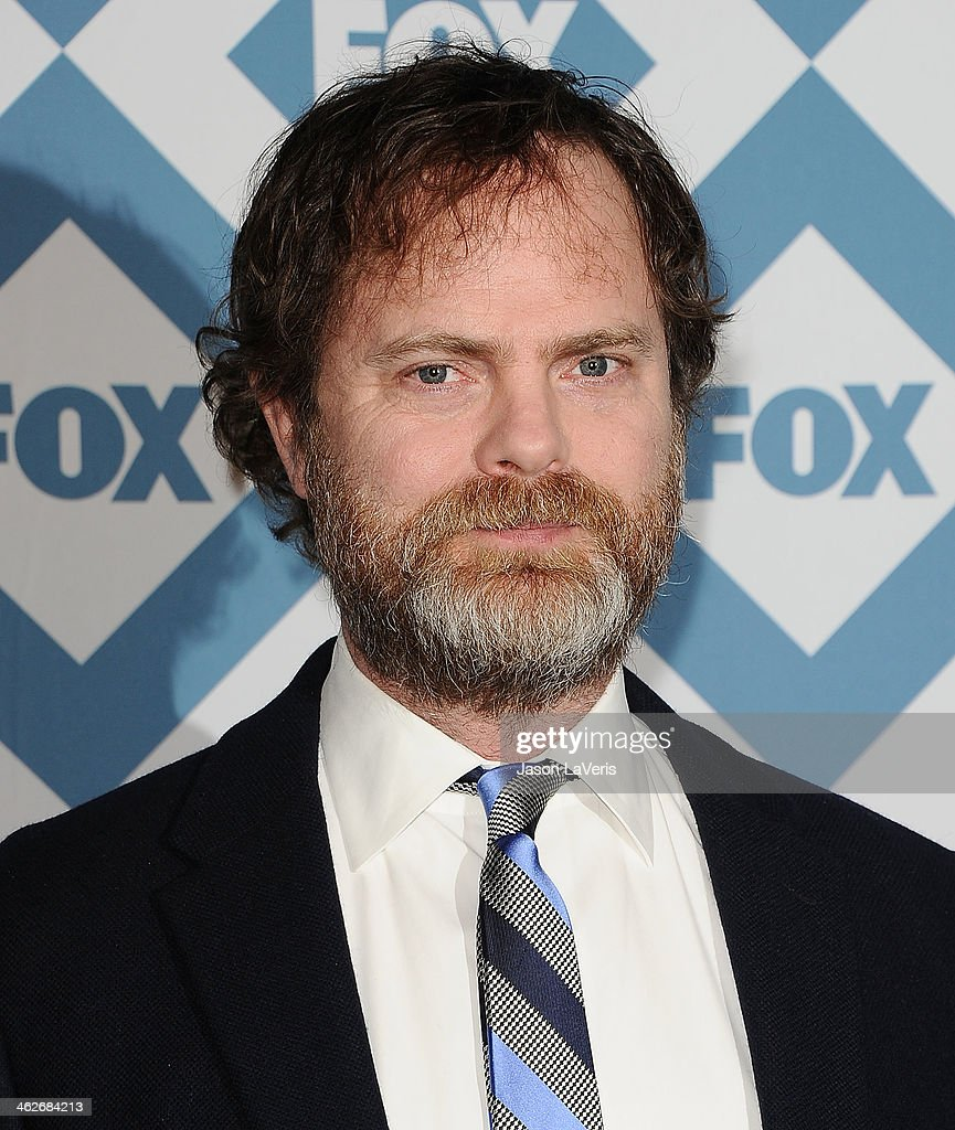 Actor <a gi-track='captionPersonalityLinkClicked' href=/galleries/search?phrase=Rainn+Wilson&family=editorial&specificpeople=534993 ng-click='$event.stopPropagation()'>Rainn Wilson</a> attends the FOX All-Star 2014 winter TCA party at The Langham Huntington Hotel and Spa on January 13, 2014 in Pasadena, California.