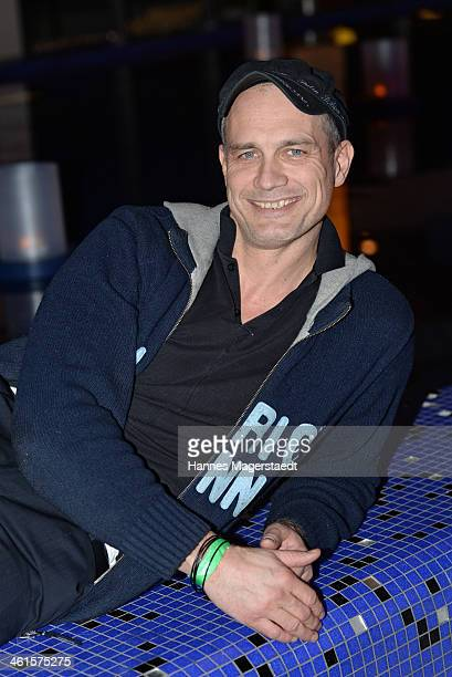 Actor Ralf Bauer attends the roof garden opening at Hotel Bayerischer Hof on January 9 2014 in Munich Germany