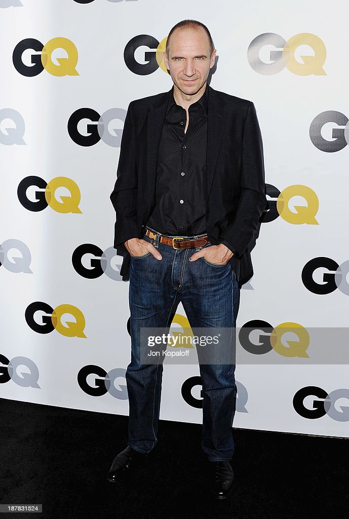 Actor <a gi-track='captionPersonalityLinkClicked' href=/galleries/search?phrase=Ralph+Fiennes&family=editorial&specificpeople=206461 ng-click='$event.stopPropagation()'>Ralph Fiennes</a> arrives at GQ Celebrates The 2013 'Men Of The Year' at The Wilshire Ebell Theatre on November 12, 2013 in Los Angeles, California.