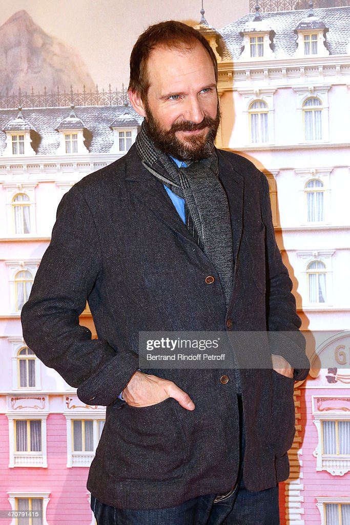 Actor Ralph Fiennes attends 'The Grand Budapest Hotel' Paris Premiere at Cinema Gaumont Opera Capucines on February 20, 2014 in Paris, France.