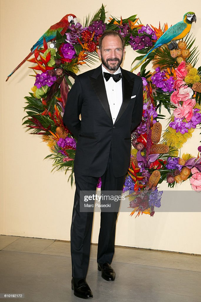 Actor Ralph Fiennes attends the Opening Gala Season at Opera Garnier on September 24, 2016 in Paris, France.
