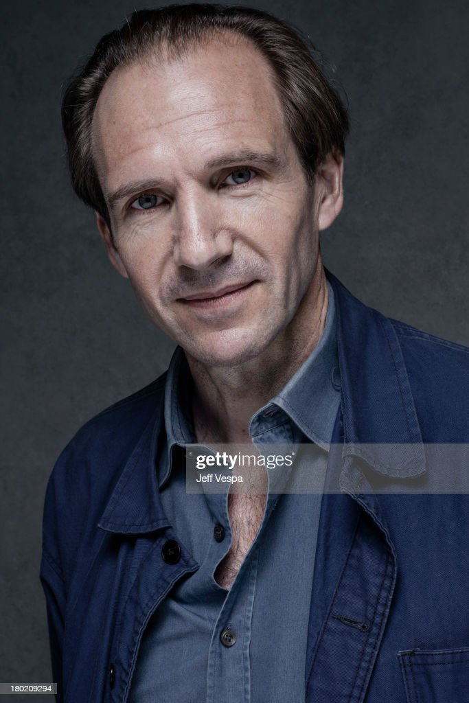 Actor Ralph Fiennes is photographed at the Toronto Film Festival on September 7, 2013 in Toronto, Ontario.