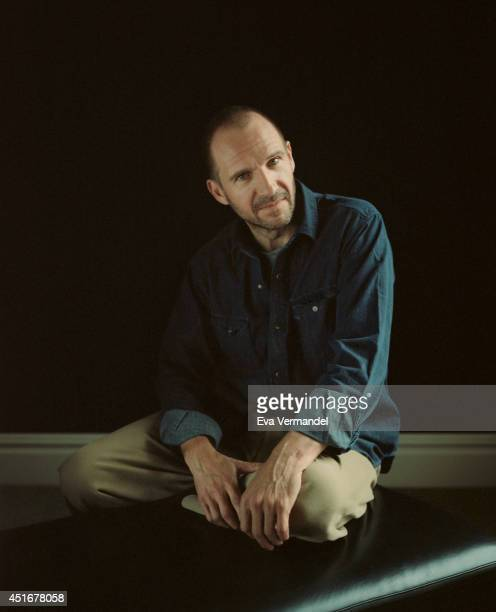 Actor Ralph Fiennes is photographed for the FT magazine on January 14 2014 in London England