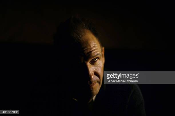 Actor Ralph Fiennes is photographed for the Sydney Morning Herald on April 14 2014 in Sydney Australia