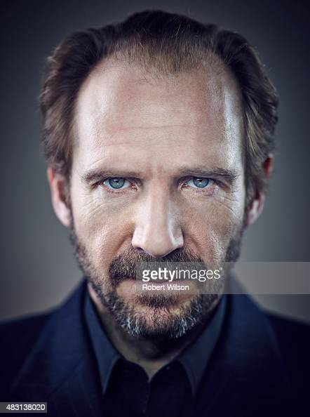 Actor Ralph Fiennes is photographed for the Times on March 13 2015 in London England