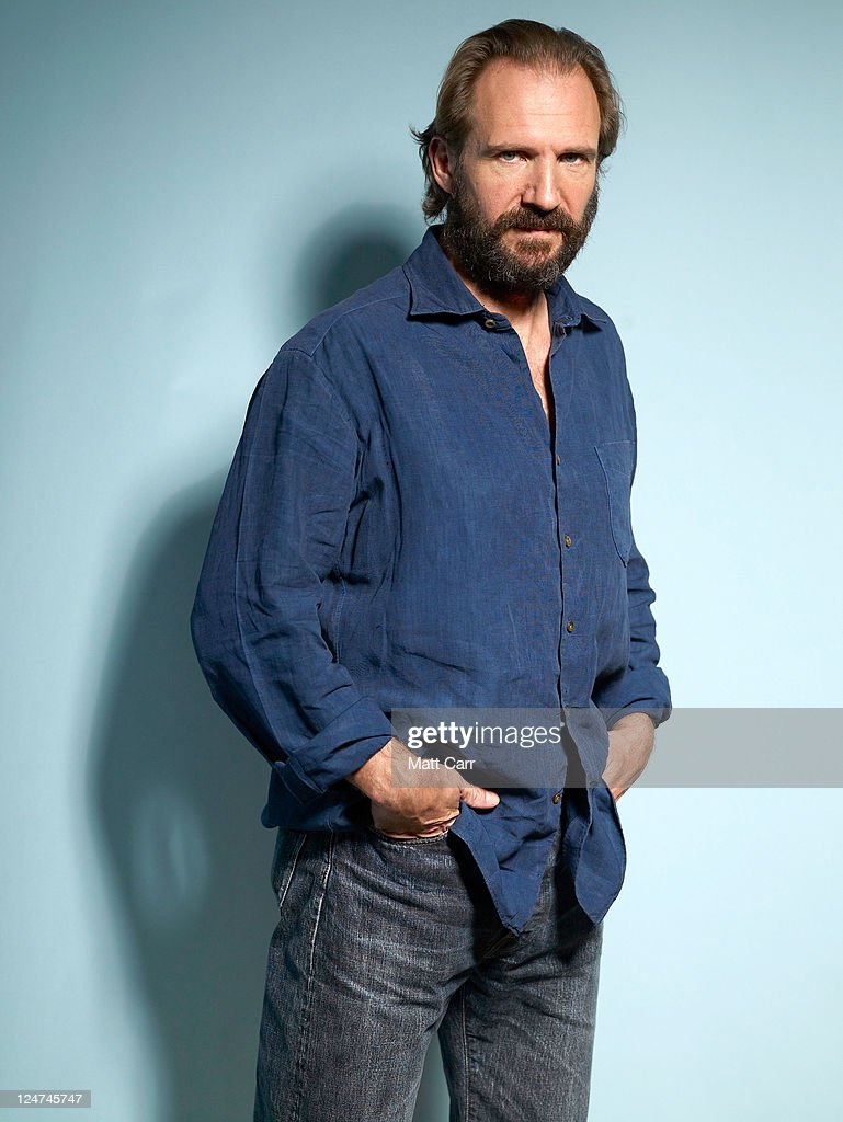 Actor <a gi-track='captionPersonalityLinkClicked' href=/galleries/search?phrase=Ralph+Fiennes&family=editorial&specificpeople=206461 ng-click='$event.stopPropagation()'>Ralph Fiennes</a> of 'Coriolanus' poses during the 2011 Toronto Film Festival at Guess Portrait Studio on September 12, 2011 in Toronto, Canada.