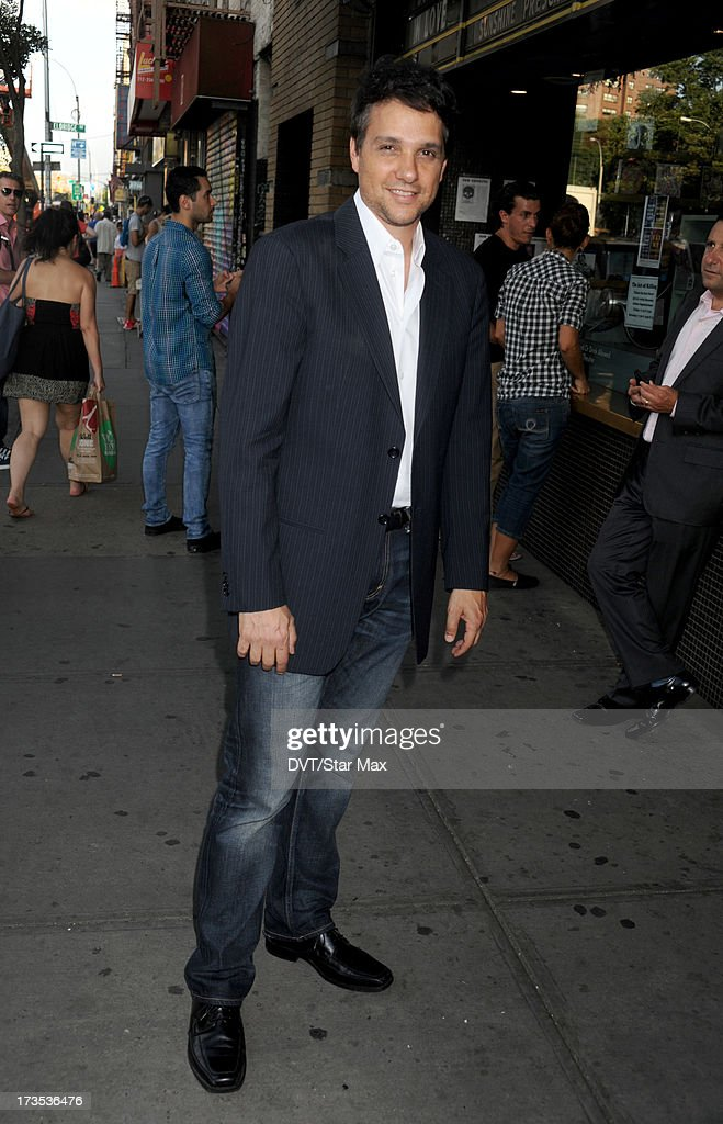 Actor Ralph Macchio as seen on July 15, 2013 in New York City.