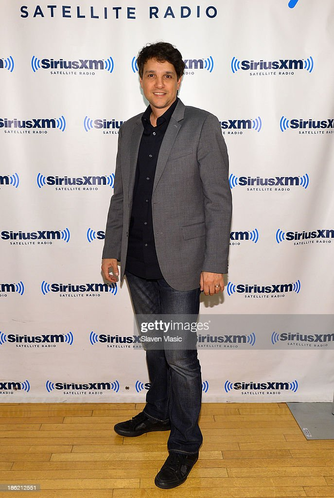 Actor <a gi-track='captionPersonalityLinkClicked' href=/galleries/search?phrase=Ralph+Macchio&family=editorial&specificpeople=235426 ng-click='$event.stopPropagation()'>Ralph Macchio</a> visits SiriusXM Studios on October 29, 2013 in New York City.