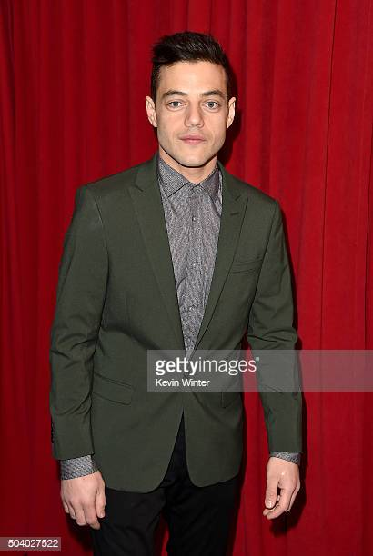 Actor Rami Malek attends the 16th Annual AFI Awards at Four Seasons Hotel Los Angeles at Beverly Hills on January 8 2016 in Beverly Hills California