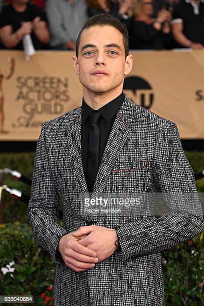 Actor Rami Malek attends The 23rd Annual Screen Actors Guild Awards at The Shrine Auditorium on January 29 2017 in Los Angeles California 26592_008
