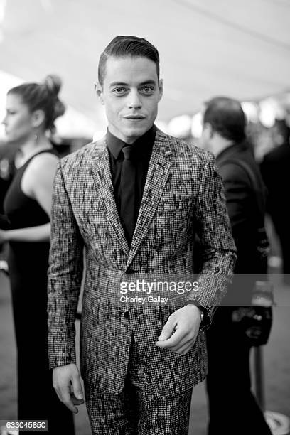 Actor Rami Malek attends The 23rd Annual Screen Actors Guild Awards at The Shrine Auditorium on January 29 2017 in Los Angeles California 26592_010