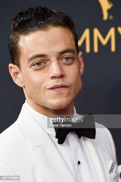Actor Rami Malek attends the 68th Annual Primetime Emmy Awards at Microsoft Theater on September 18 2016 in Los Angeles California