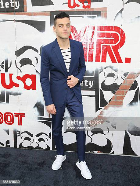 Actor Rami Malek attends USA Network's 'Mr Robot' For Your Consideration Event at Metrograph on June 6 2016 in New York City