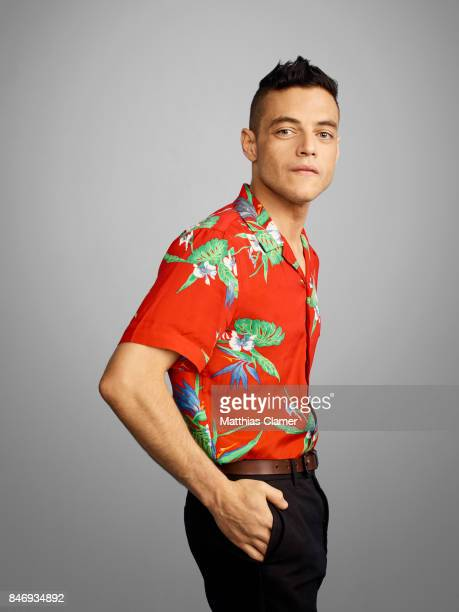 Actor Rami Malek from 'Mr Robot' is photographed for Entertainment Weekly Magazine on July 21 2016 at Comic Con in the Hard Rock Hotel in San Diego...
