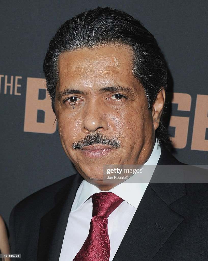 Actor Ramon Franco arrives at the FX's 'The Bridge' Season 2 Premiere at Pacific Design Center on July 7, 2014 in West Hollywood, California.