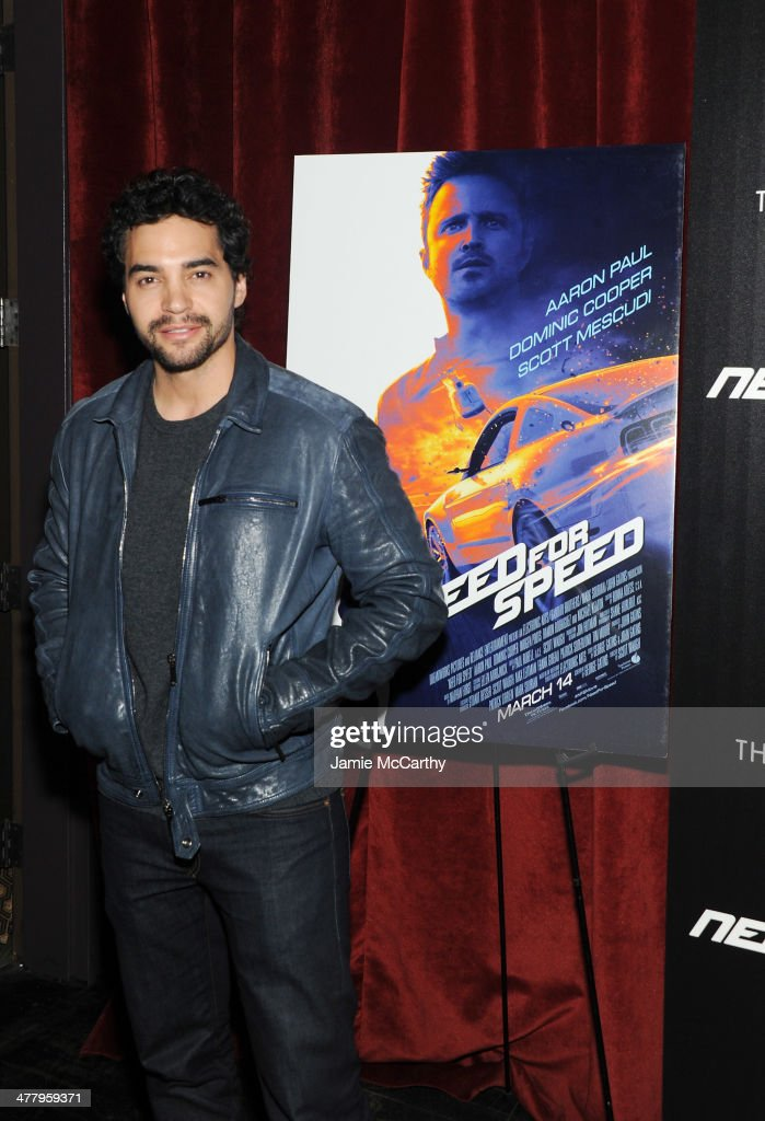Actor <a gi-track='captionPersonalityLinkClicked' href=/galleries/search?phrase=Ramon+Rodriguez&family=editorial&specificpeople=73608 ng-click='$event.stopPropagation()'>Ramon Rodriguez</a> attends DreamWorks Pictures' 'Need For Speed' screening hosted by The Cinema Society and Bushmills on March 11, 2014 in New York City.