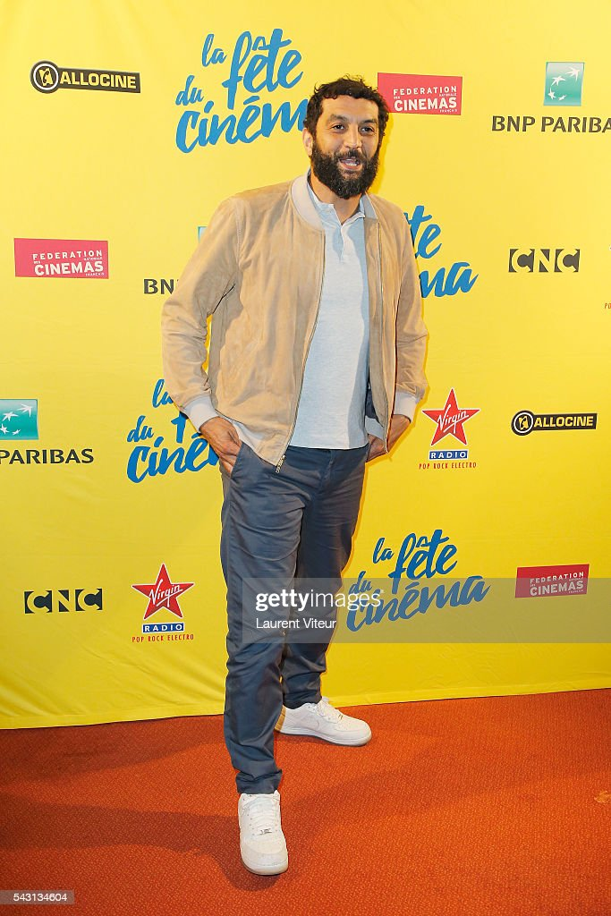 Actor Ramzy Bedia attends the 32nd 'Fete du Cinema' launch at UGC Cine Cite Bercy on June 26, 2016 in Paris, France.