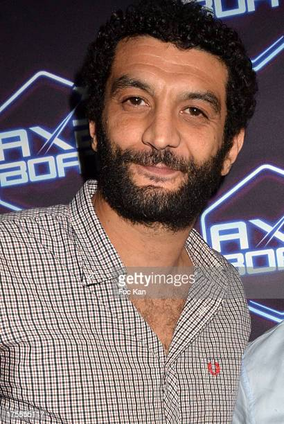 Actor Ramzy Bedia attends the Axe Boat 2013 Launch Party at Cannes Harbourg on August 3 2013 in Saint Tropez France