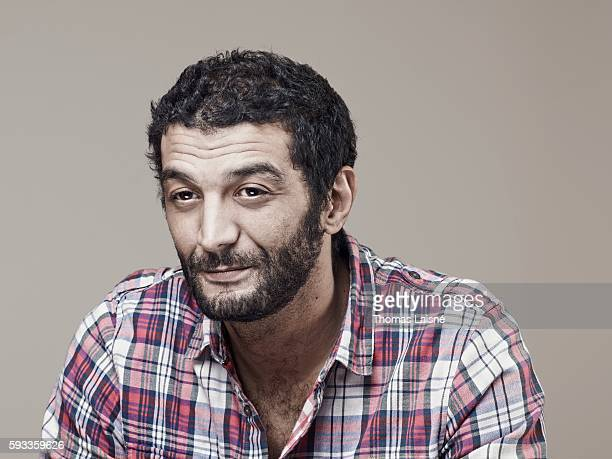 Actor Ramzy Bedia is photographed for Self Assignment on February 4 2011 in Paris France