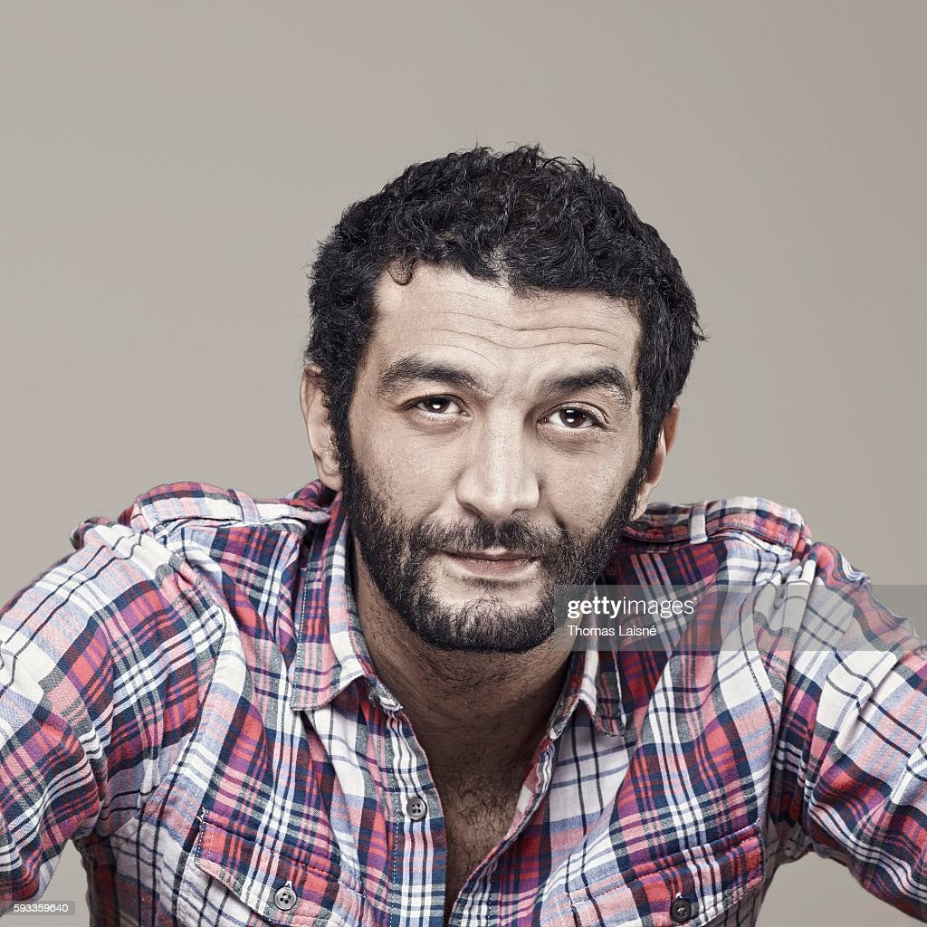 Actor Ramzy Bedia is photographed for Self Assignment on February 4, 2011 in Paris, France.