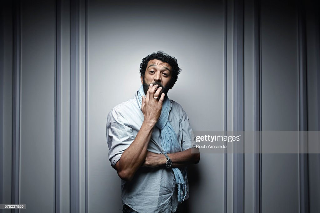 Actor Ramzy Bedia is photographed for Self Assignment on June 21, 2014 in Cabourg, France.