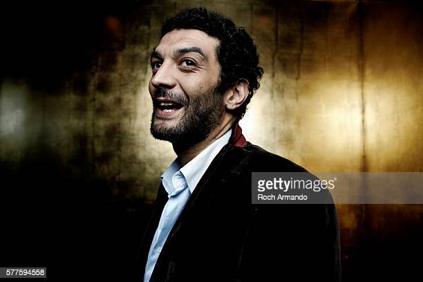 Actor Ramzy Bedia is photographed for Self Assignment on May 21 2012 in Cannes France