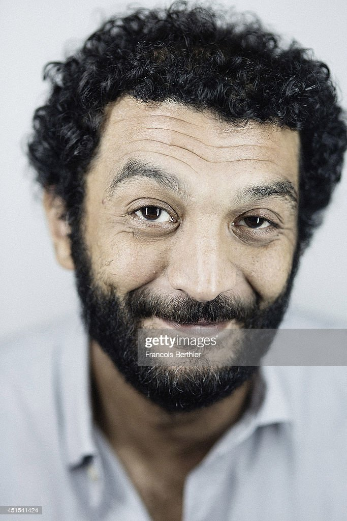 Actor Ramzy Bedia is photographed in Caen, France.