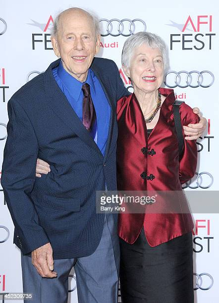 Actor Rance Howard and guest attend the premiere of 'Nebraska' at AFI FEST 2013 on November 11 2013 at TCL Chinese Theatre in Hollywood California
