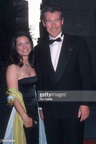 Actor Randolph Mantooth And Wife Kristen Connors Attend NBCs 75th Anniversary Special On May 5 2002