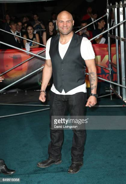 Actor Randy Couture attends the premiere of Warner Bros Pictures' 'Kong Skull Island' at Dolby Theatre on March 8 2017 in Hollywood California