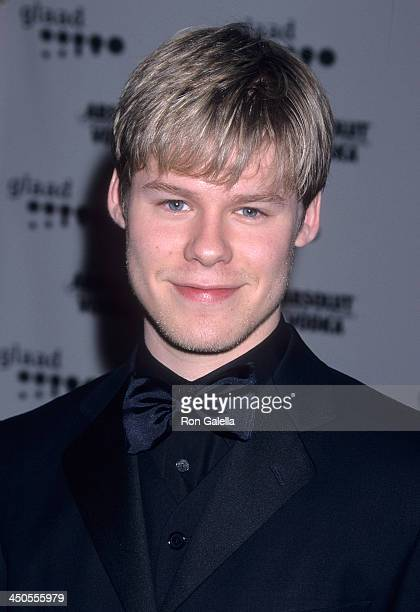 Actor Randy Harrison attends the 12th Annual GLAAD Media Awards on April 28 2001 at the Century Plaza Hotel in Century City California