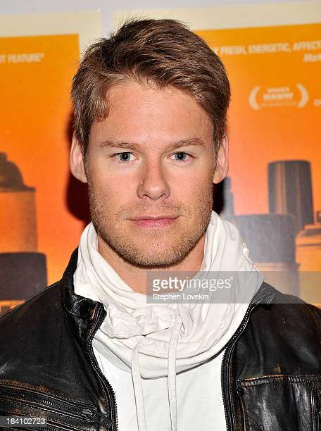 Actor Randy Harrison attends the 'Gimme The Loot' New York Premiere at MOMA on March 19 2013 in New York City