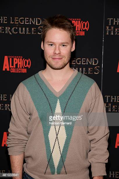 Actor Randy Harrison attends the 'The Legend Of Hercules' premiere at the Crosby Street Hotel on January 6 2014 in New York City