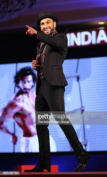 Actor Ranveer Singh at India Today Conclave 2015