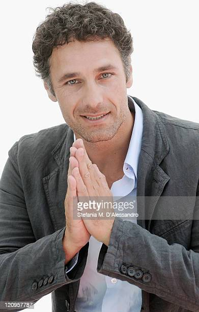Actor Raoul Bova attends a photocall during the 2009 Giffoni Experience on July 18 2009 in Salerno Italy