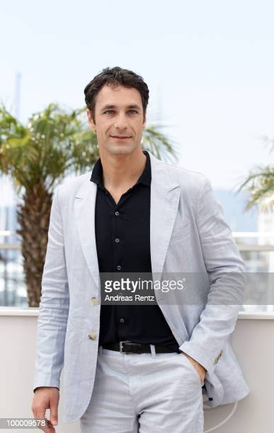 Actor Raoul Bova attends the 'Our Life' Photocall at the Palais des Festivals during the 63rd Annual Cannes Film Festival on May 20 2010 in Cannes...