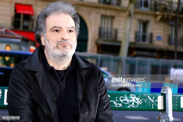 Actor Raphael Mezrahi poses during a portrait session in Paris France on