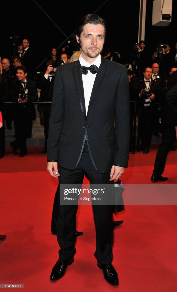 Actor <a gi-track='captionPersonalityLinkClicked' href=/galleries/search?phrase=Raphael+Personnaz&family=editorial&specificpeople=4497778 ng-click='$event.stopPropagation()'>Raphael Personnaz</a> attends the 'Polisse' premiere at the Palais des Festivals during the 64th Cannes Film Festival on May 13, 2011 in Cannes, France.