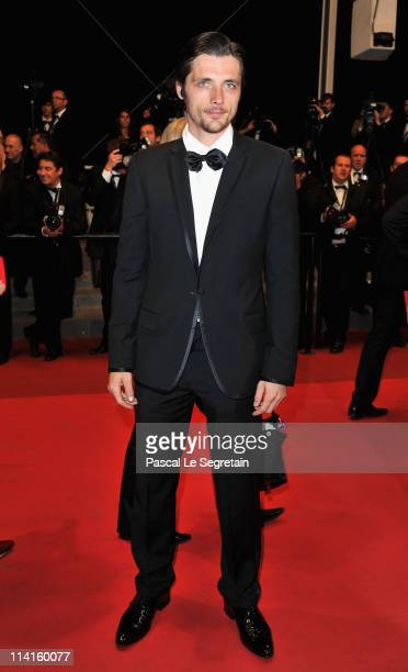 Actor Raphael Personnaz attends the 'Polisse' premiere at the Palais des Festivals during the 64th Cannes Film Festival on May 13 2011 in Cannes...