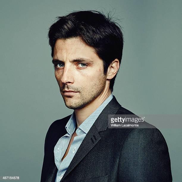 Actor Raphael Personnaz is photographed for Le Film Francais in Deauville France