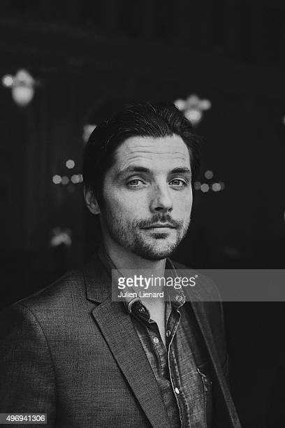 Actor Raphael Personnaz is photographed for Self Assignment on October 5 2015 in Namur Belgium